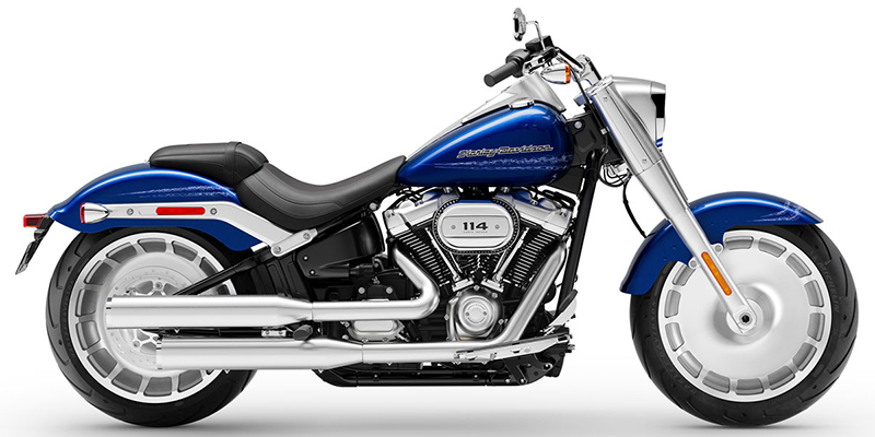 New 2019 Harley-Davidson Fat Boy 114