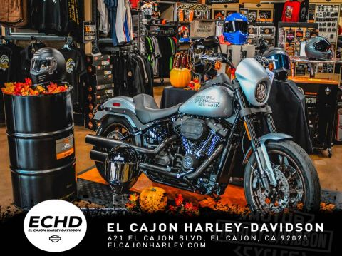 New 2020 Harley-Davidson Low Rider S